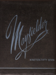 Mayfield High School - Mayfielder Yearbook (Mayfield, OH) online yearbook collection, 1957 Edition, Page 1