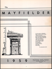 Page 5, 1959 Edition, Mayfield High School - Mayfielder Yearbook (Mayfield, OH) online yearbook collection