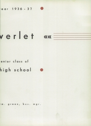 Page 7, 1937 Edition, Rocky River High School - Riverlet Yearbook (Rocky River, OH) online yearbook collection
