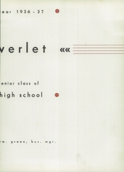 Page 9, 1937 Edition, Rocky River High School - Riverlet Yearbook (Rocky River, OH) online yearbook collection