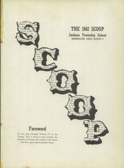 Page 5, 1942 Edition, Jackson High School - Scoop Yearbook (Massillon, OH) online yearbook collection