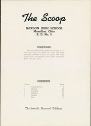 Page 5, 1951 Edition, Jackson High School - Scoop Yearbook (Massillon, OH) online yearbook collection