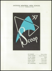 Page 5, 1957 Edition, Jackson High School - Scoop Yearbook (Massillon, OH) online yearbook collection