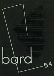1954 Edition, Hubbard High School - Bard Yearbook (Hubbard, OH)