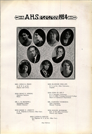 Page 13, 1924 Edition, Athens High School - Arena Yearbook (Athens, OH) online yearbook collection