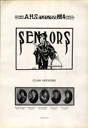 Page 17, 1924 Edition, Athens High School - Arena Yearbook (Athens, OH) online yearbook collection