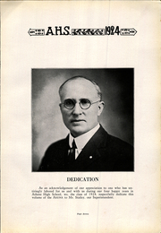 Page 7, 1924 Edition, Athens High School - Arena Yearbook (Athens, OH) online yearbook collection