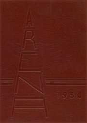 Page 1, 1954 Edition, Athens High School - Arena Yearbook (Athens, OH) online yearbook collection