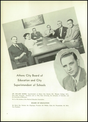 Page 12, 1954 Edition, Athens High School - Arena Yearbook (Athens, OH) online yearbook collection