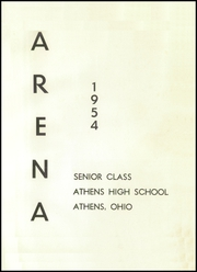 Page 5, 1954 Edition, Athens High School - Arena Yearbook (Athens, OH) online yearbook collection