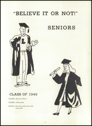 Page 11, 1949 Edition, Loveland High School - Scholar Yearbook (Loveland, OH) online yearbook collection