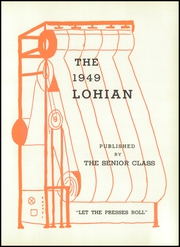 Page 5, 1949 Edition, Loveland High School - Scholar Yearbook (Loveland, OH) online yearbook collection