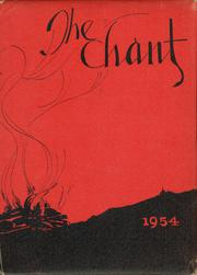 1954 Edition, Bellefontaine High School - Chant Yearbook (Bellefontaine, OH)