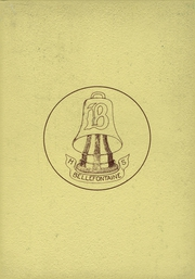 1958 Edition, Bellefontaine High School - Chant Yearbook (Bellefontaine, OH)