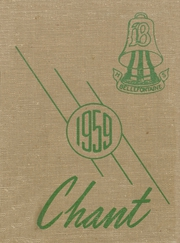 1959 Edition, Bellefontaine High School - Chant Yearbook (Bellefontaine, OH)