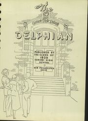 Page 7, 1938 Edition, New Philadelphia High School - Delphian Yearbook (New Philadelphia, OH) online yearbook collection