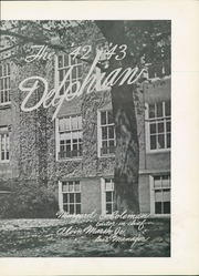 Page 7, 1943 Edition, New Philadelphia High School - Delphian Yearbook (New Philadelphia, OH) online yearbook collection