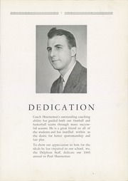 Page 9, 1945 Edition, New Philadelphia High School - Delphian Yearbook (New Philadelphia, OH) online yearbook collection