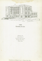 Page 9, 1942 Edition, Coventry High School - Cometeer Yearbook (Akron, OH) online yearbook collection