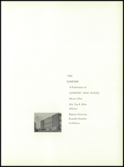 Page 7, 1955 Edition, Coventry High School - Cometeer Yearbook (Akron, OH) online yearbook collection