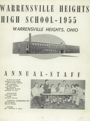 Page 5, 1955 Edition, Warrensville Heights High School - Tiger Spotlight Yearbook (Warrensville Heights, OH) online yearbook collection