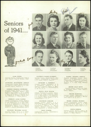 Page 16, 1941 Edition, Edgewood High School - Echo Yearbook (Ashtabula, OH) online yearbook collection