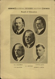 Page 10, 1925 Edition, Warren Western Reserve High School - Aurora Yearbook (Warren, OH) online yearbook collection