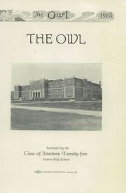 Page 7, 1925 Edition, Ironton High School - Owl Yearbook (Ironton, OH) online yearbook collection