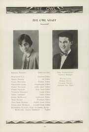 Page 10, 1930 Edition, Ironton High School - Owl Yearbook (Ironton, OH) online yearbook collection