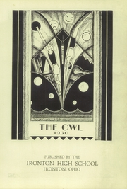 Page 5, 1930 Edition, Ironton High School - Owl Yearbook (Ironton, OH) online yearbook collection
