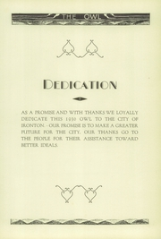 Page 7, 1930 Edition, Ironton High School - Owl Yearbook (Ironton, OH) online yearbook collection