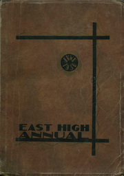 1930 Edition, East High School - Janus Yearbook (Youngstown, OH)