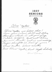 Page 10, 1937 Edition, East High School - Janus Yearbook (Youngstown, OH) online yearbook collection