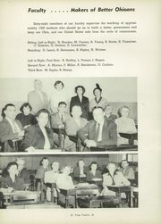 Page 16, 1953 Edition, East High School - Janus Yearbook (Youngstown, OH) online yearbook collection
