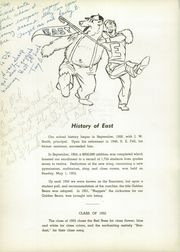 Page 8, 1955 Edition, East High School - Janus Yearbook (Youngstown, OH) online yearbook collection