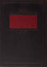 Page 1, 1934 Edition, Bellaire High School - Beljuan Yearbook (Bellaire, OH) online yearbook collection