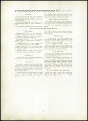 Page 10, 1934 Edition, Bellaire High School - Beljuan Yearbook (Bellaire, OH) online yearbook collection