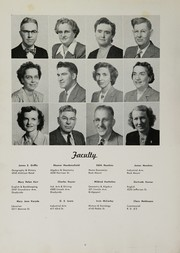 Page 10, 1951 Edition, Bellaire High School - Beljuan Yearbook (Bellaire, OH) online yearbook collection