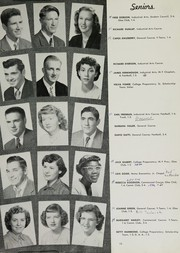 Page 17, 1951 Edition, Bellaire High School - Beljuan Yearbook (Bellaire, OH) online yearbook collection
