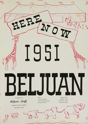 Page 5, 1951 Edition, Bellaire High School - Beljuan Yearbook (Bellaire, OH) online yearbook collection
