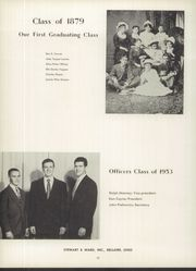 Page 16, 1953 Edition, Bellaire High School - Beljuan Yearbook (Bellaire, OH) online yearbook collection