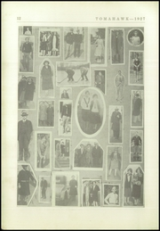 Page 14, 1927 Edition, Coshocton High School - Tomahawk Yearbook (Coshocton, OH) online yearbook collection