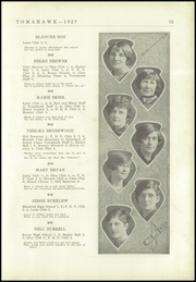 Page 17, 1927 Edition, Coshocton High School - Tomahawk Yearbook (Coshocton, OH) online yearbook collection