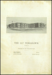 Page 4, 1927 Edition, Coshocton High School - Tomahawk Yearbook (Coshocton, OH) online yearbook collection