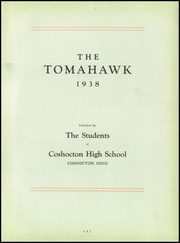 Page 7, 1938 Edition, Coshocton High School - Tomahawk Yearbook (Coshocton, OH) online yearbook collection