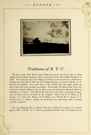 Page 15, 1919 Edition, Buena Vista University - Log Yearbook (Storm Lake, IA) online yearbook collection