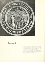 Page 8, 1960 Edition, Buena Vista University - Log Yearbook (Storm Lake, IA) online yearbook collection
