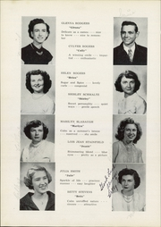 Page 20, 1951 Edition, Jefferson Area High School - J Hi Life Yearbook (Jefferson, OH) online yearbook collection