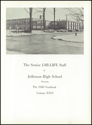Page 5, 1956 Edition, Jefferson Area High School - J Hi Life Yearbook (Jefferson, OH) online yearbook collection