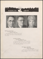 Page 14, 1928 Edition, Martins Ferry High School - Ferrian Yearbook (Martins Ferry, OH) online yearbook collection